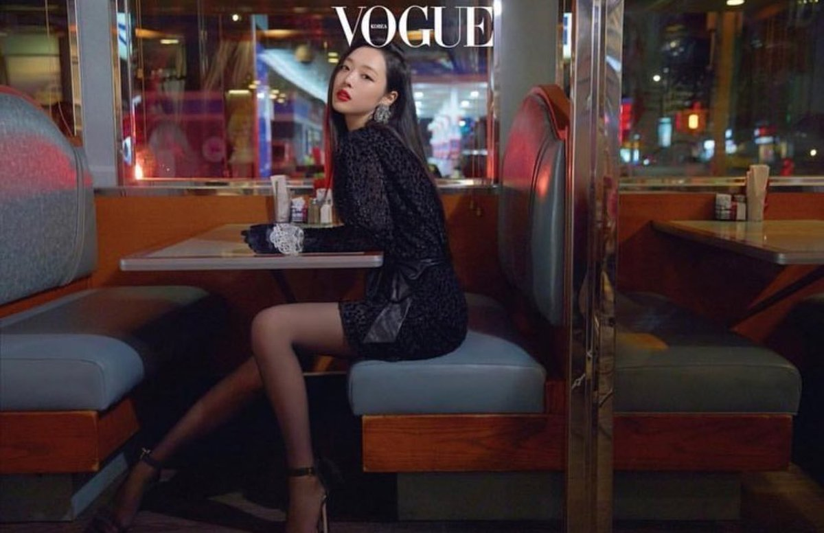 News Sulli Is Classy In Her Latest Photoshoot For Vogue Korea Kpopsource International Kpop Forum Community