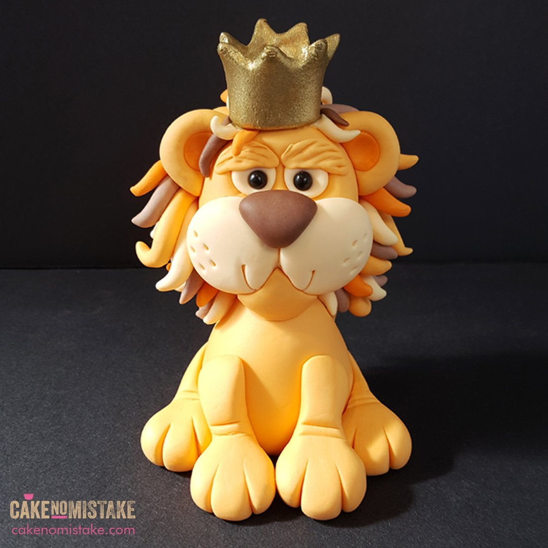 Admirable Cake No Mistake On Twitter King Of The Jungle Cake Topper Funny Birthday Cards Online Hetedamsfinfo