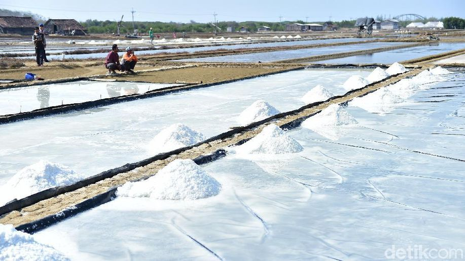 Produksi Garam di Lamongan Lampaui Target, Ini Inovasinya https://t.co/1Mithocj4G https://t.co/XIBhh0MYjP