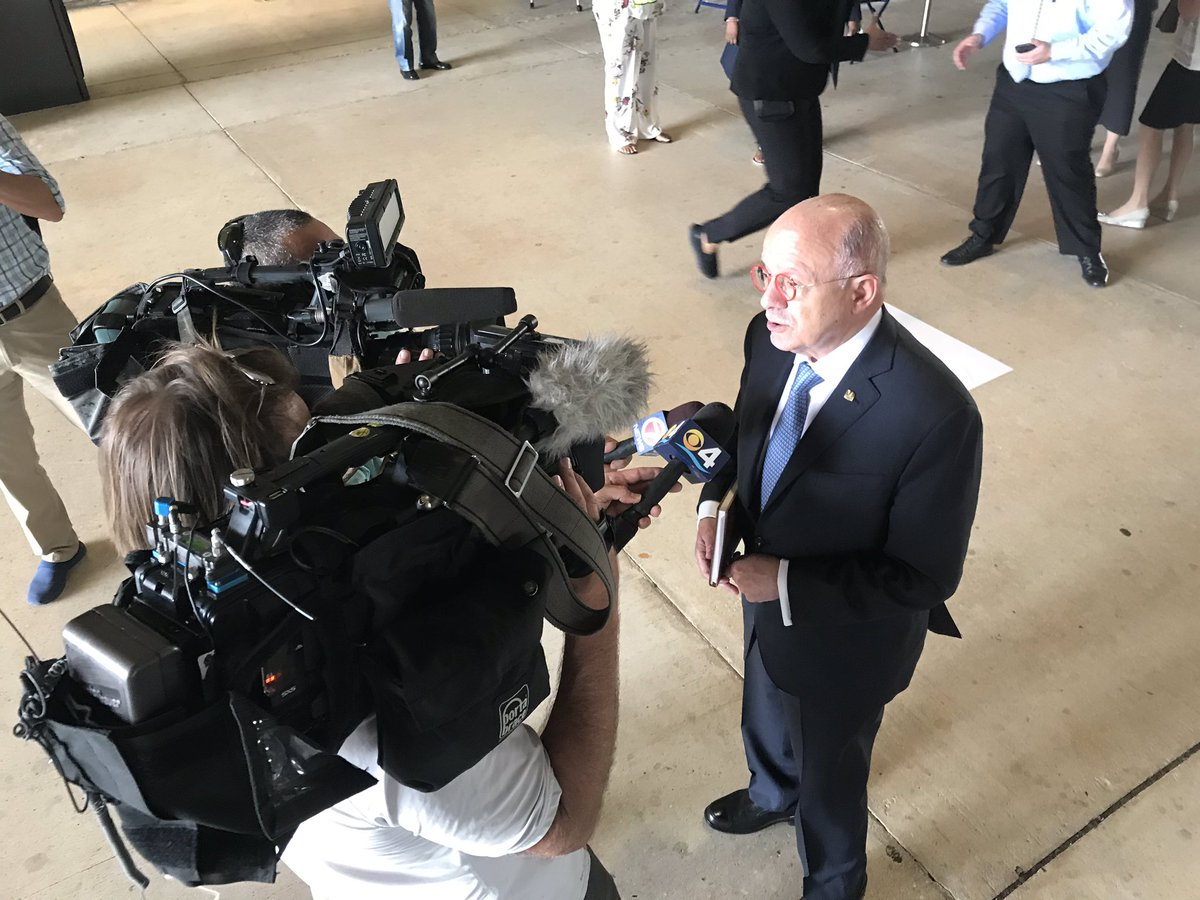 When Miami-Dade College President Eduardo Padron first asked the county for early voting on campus, he was told No. Then a fight began, with Democrats pushing for campus sites and Republicans against. The sites on MDC campuses North and Kendall opened today.