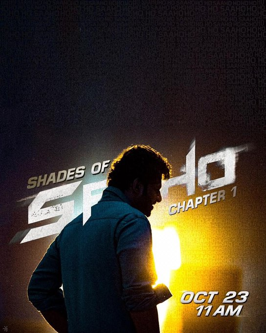 Announcing #ShadesOfSaaho, a unique series unveiling fascinating titbits of this stellar project. Out