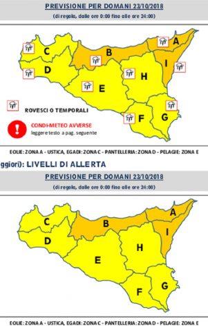 Rischio di forte precipitazioni domani sulla Sicilia, allerta arancione su Palermo - https://t.co/lhbkmTQwGx #blogsicilianotizie
