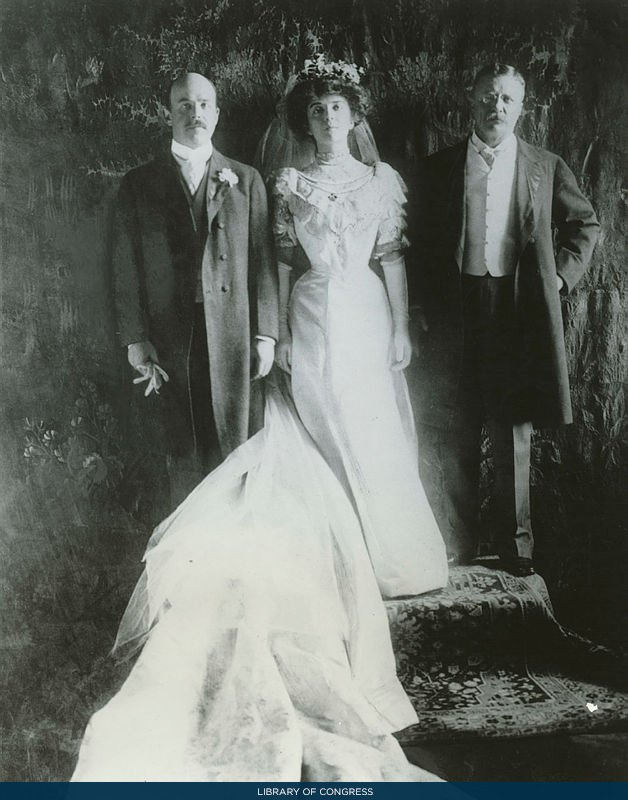 The First Photo Here Shows Luci Baines Johnson On Her Wedding Day