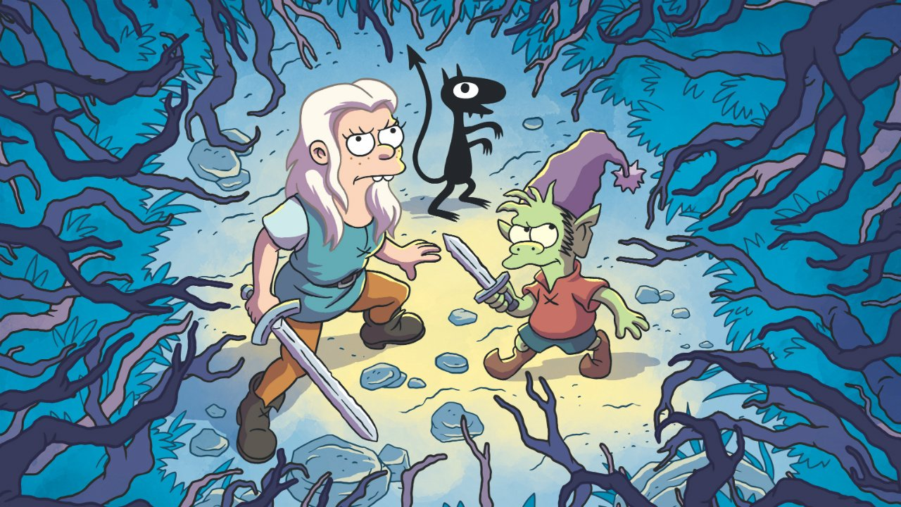 Netflix's Disenchantment is getting 20 more episodes:  https://t.co/cvb26BskOo https://t.co/twTGZ2ccbI