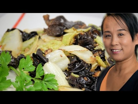Chinese Cabbage & Fungus Stir-Fry (Chinese Spicy Vegetarian Recipe) - Cooking View - https://t.co/HSvl9njkoD https://t.co/LdxMzD8BRD