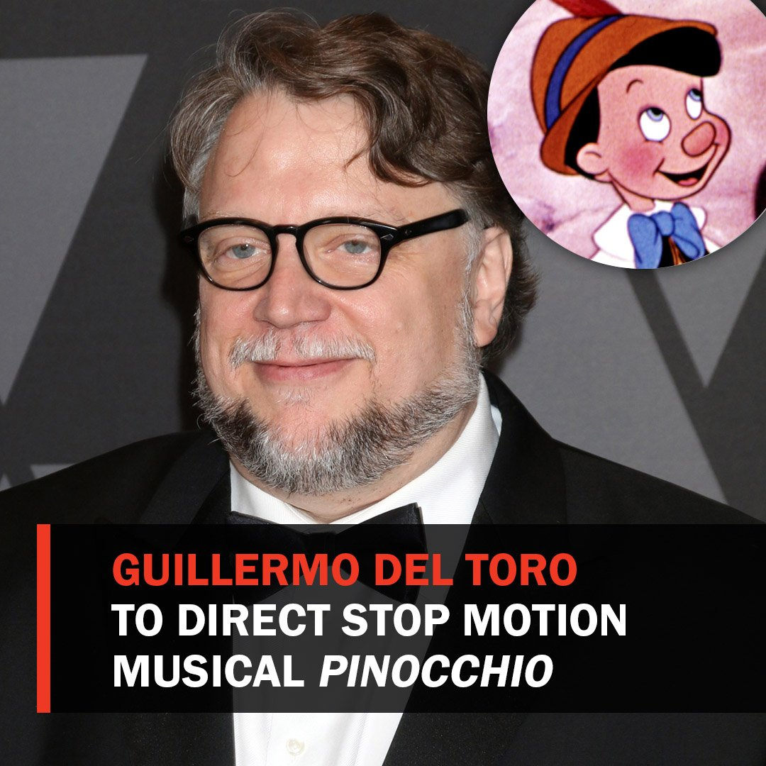 Guillermo del toro will direct, write and produce stop motion