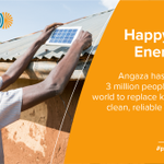 Image for the Tweet beginning: Angaza has empowered 3 million