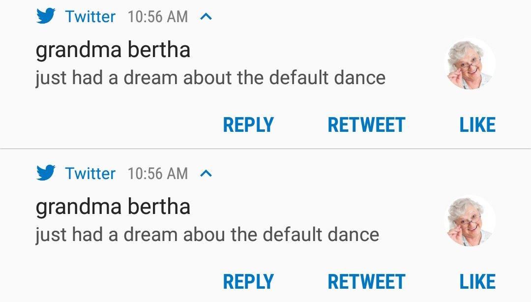grandma bertha on Twitter: