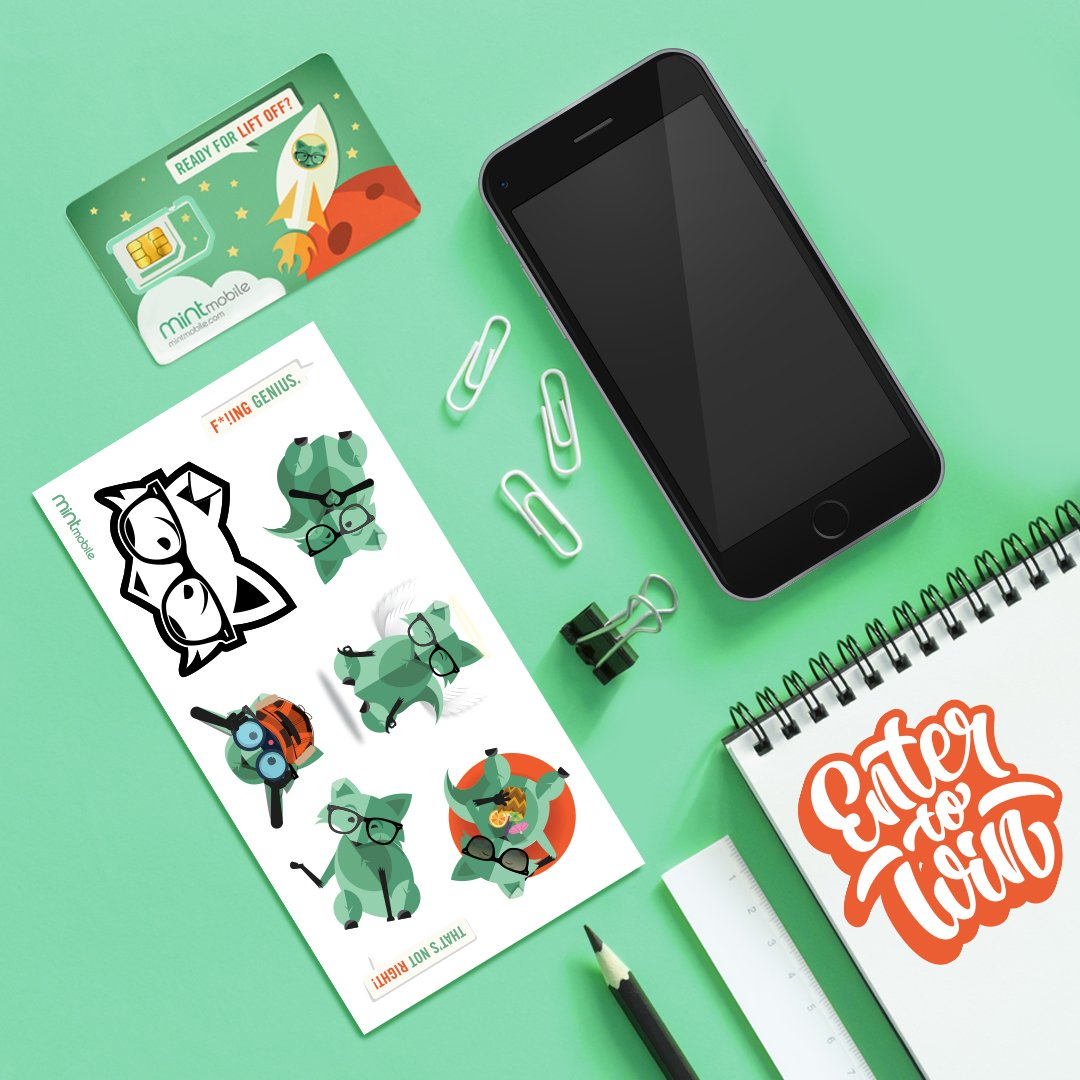 ✨STUCK ON MINT GIVEAWAY ✨Win an iPhone 8 64GB & Mint swag