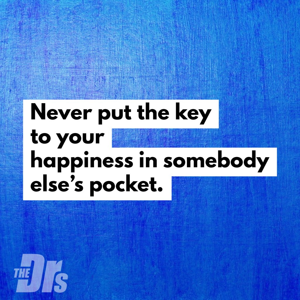 Never put the key to your happiness in somebody else's pocket. 😃🔑 #MondayMotivation