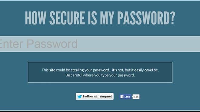 2  http://howsecureismypassword net •It is a password