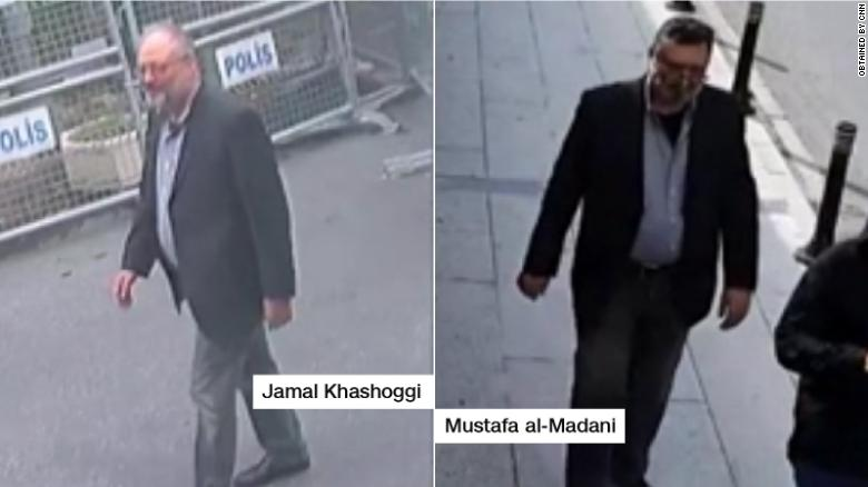 EXCLUSIVE: Surveillance footage shows Saudi operative in Jamal Khashoggi's clothes in Istanbul after the journalist was killed, Turkish source says https://t.co/SwxJTSwUxY