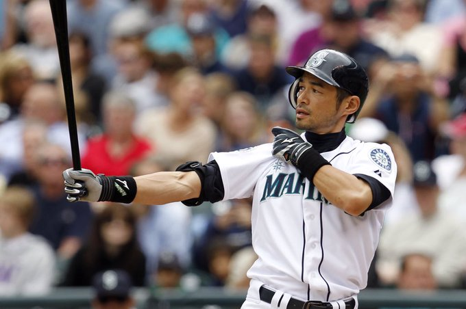A very Happy 45th Birthday to outfielder, Ichiro Suzuki!