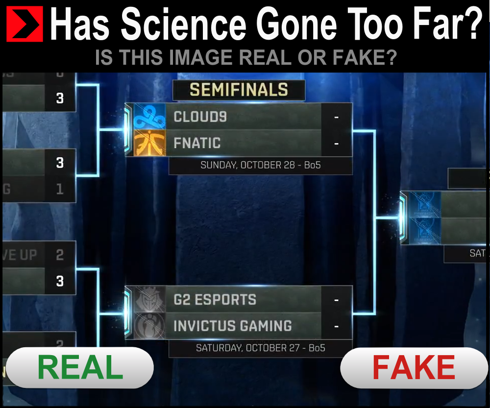 is this the real life?  #Worlds2018
