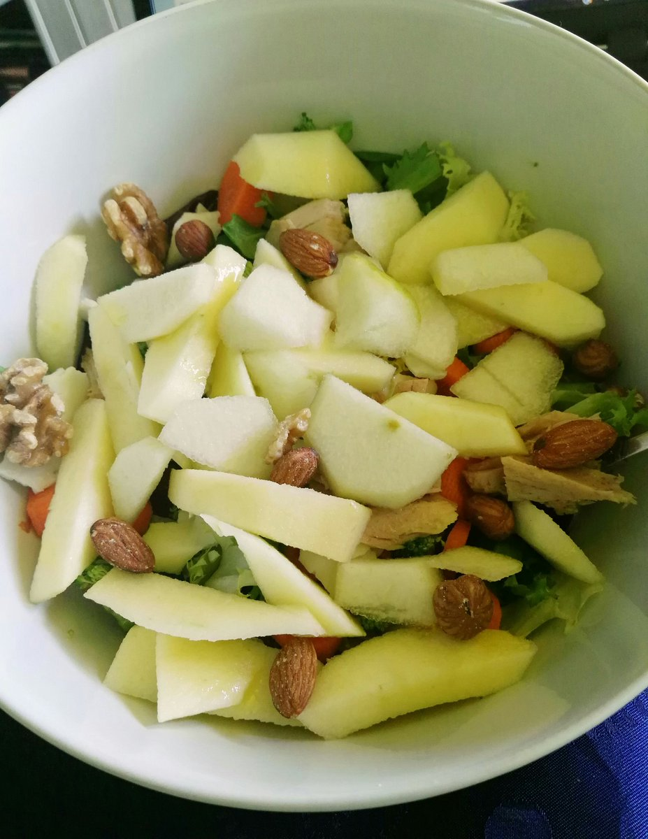 Dieta de atun y manzana