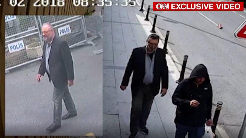 CNN shows 'body double' of murdered journalist Jamal Khashoggi in Istanbul https://t.co/9dSGwICGDl