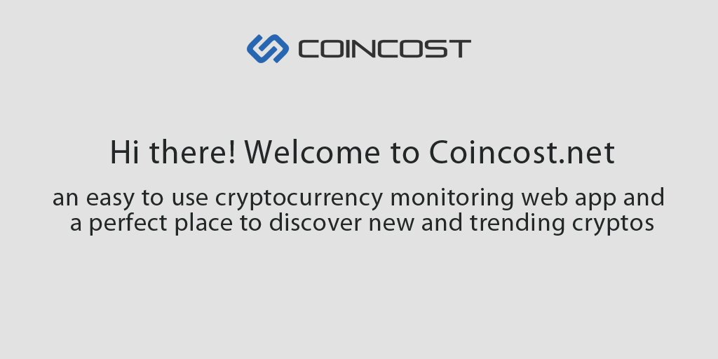 Coincost Coincostnet Twitter