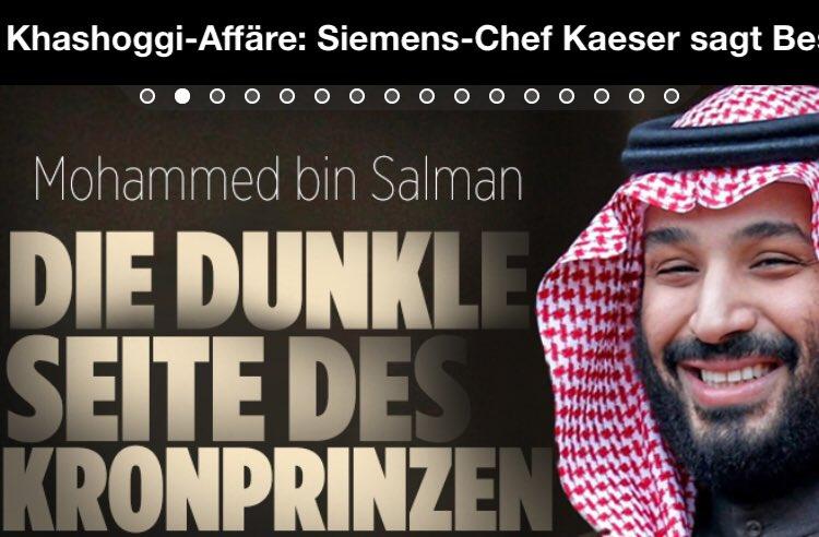 Dann hat er auch eine helle, @Bild? #SaudiArabien #Kashoggi