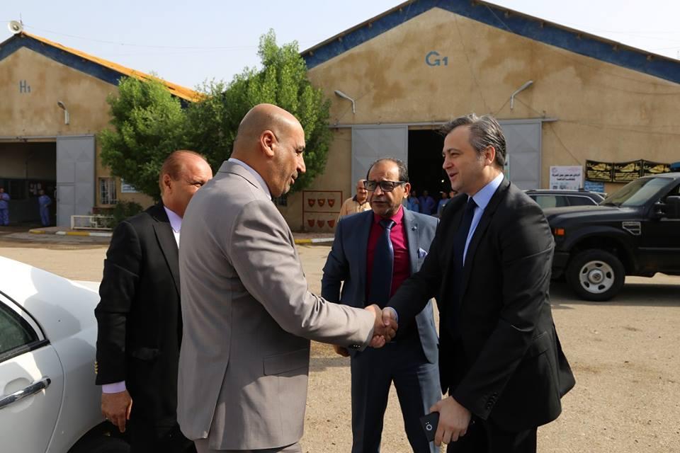 تعاون مستقبلي بين شركة الصناعات الهيدروليكيه العراقيه وشركة جوميل الصربيه لتاهيل وصيانه المعدات العسكريه  DqHTtFQXgAArtLd