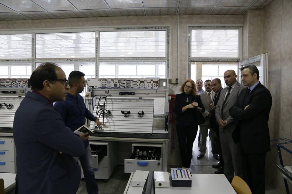 تعاون مستقبلي بين شركة الصناعات الهيدروليكيه العراقيه وشركة جوميل الصربيه لتاهيل وصيانه المعدات العسكريه  DqHUsjEWoAIlFgN