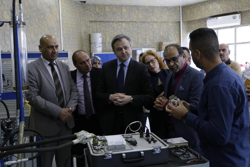 تعاون مستقبلي بين شركة الصناعات الهيدروليكيه العراقيه وشركة جوميل الصربيه لتاهيل وصيانه المعدات العسكريه  DqHUuYgXgAAdZxI