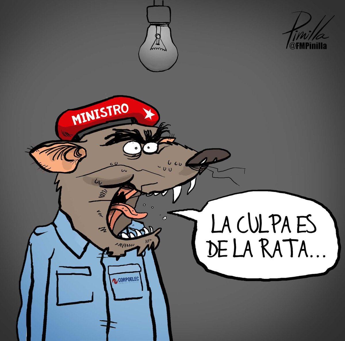Caricatura de Pinilla.