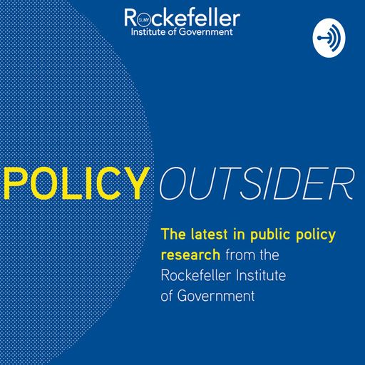 """""""Policy Outsider,"""" the new podcast from @RockefellerInst is now available on:  Stitcher: https://t.co/KvlhNcjV1F Radio Public: https://t.co/f3aREtun6D Google Podcasts (Android only): https://t.co/HggZzd7iGi Spotify: https://t.co/b6nyP7rdVR Breaker: https://t.co/b6nyP7rdVR"""