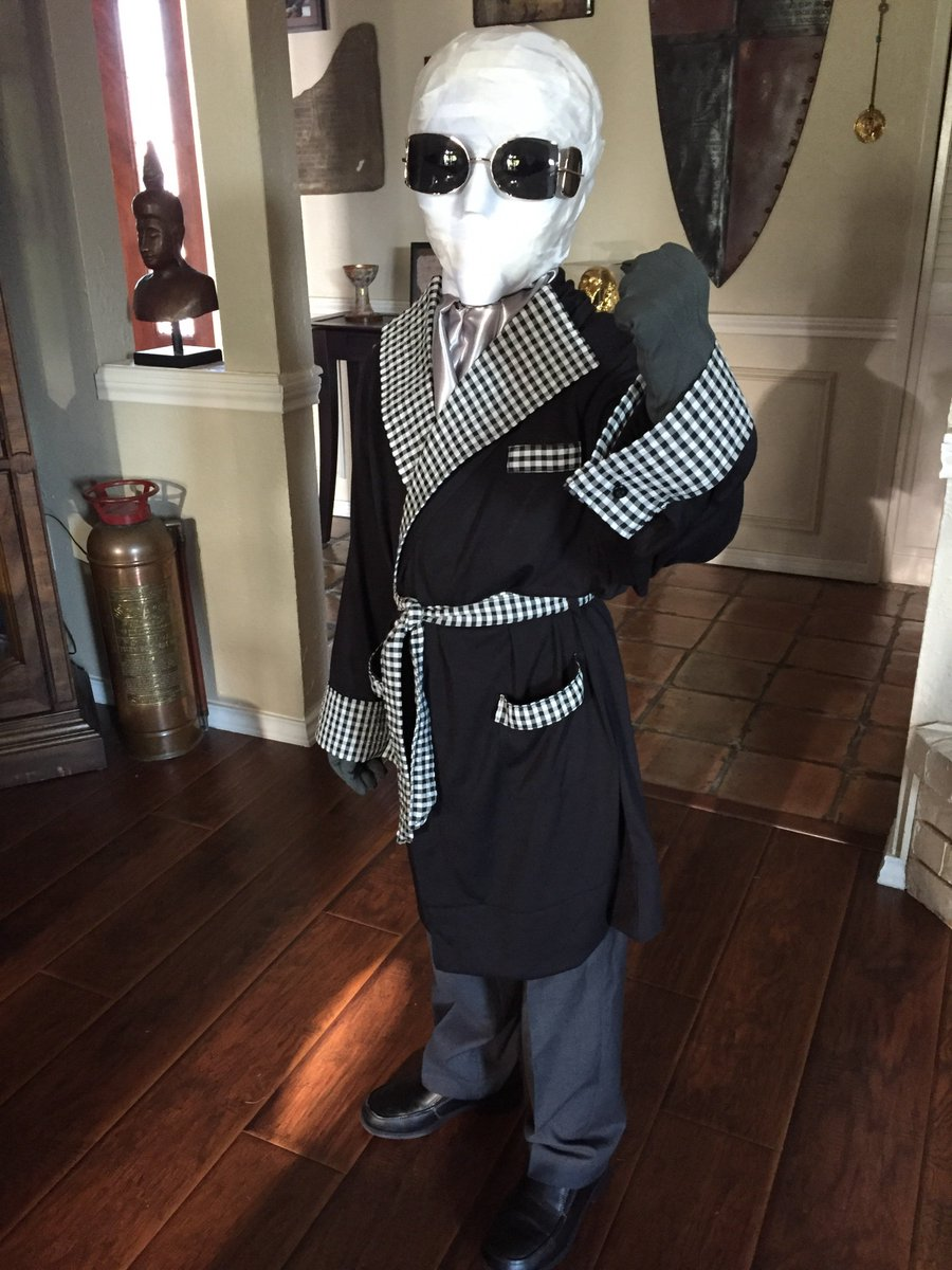 The Rpf On Twitter The Invisible Man Costume By Funky For His Seven Year Old Son Thread Https T Co Zx6vovfmcz Theinvisibleman Kidscosplay Costume Craftyourfandom Https T Co Rv4kyw6dwi