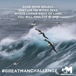 """This week's #GreatManChallenge: Read """"The Prayer of Sir Francis Drake"""" (https://t.co/Ns2AQRpYw3). Now evaluate your life: spiritually, physically, relationally. Look at your life from all angles. Are you complacent in comfort? Where should you push yourself to greater heights?"""