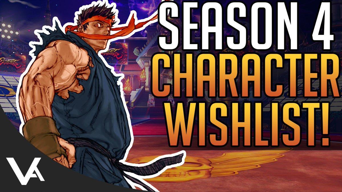 Vesperarcade On Twitter Sfv Season 4 Dlc Character Wish List