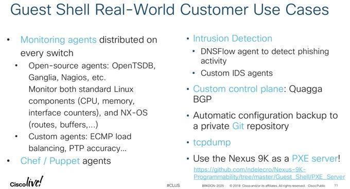 Cisco Nexus Programmability - Togetter