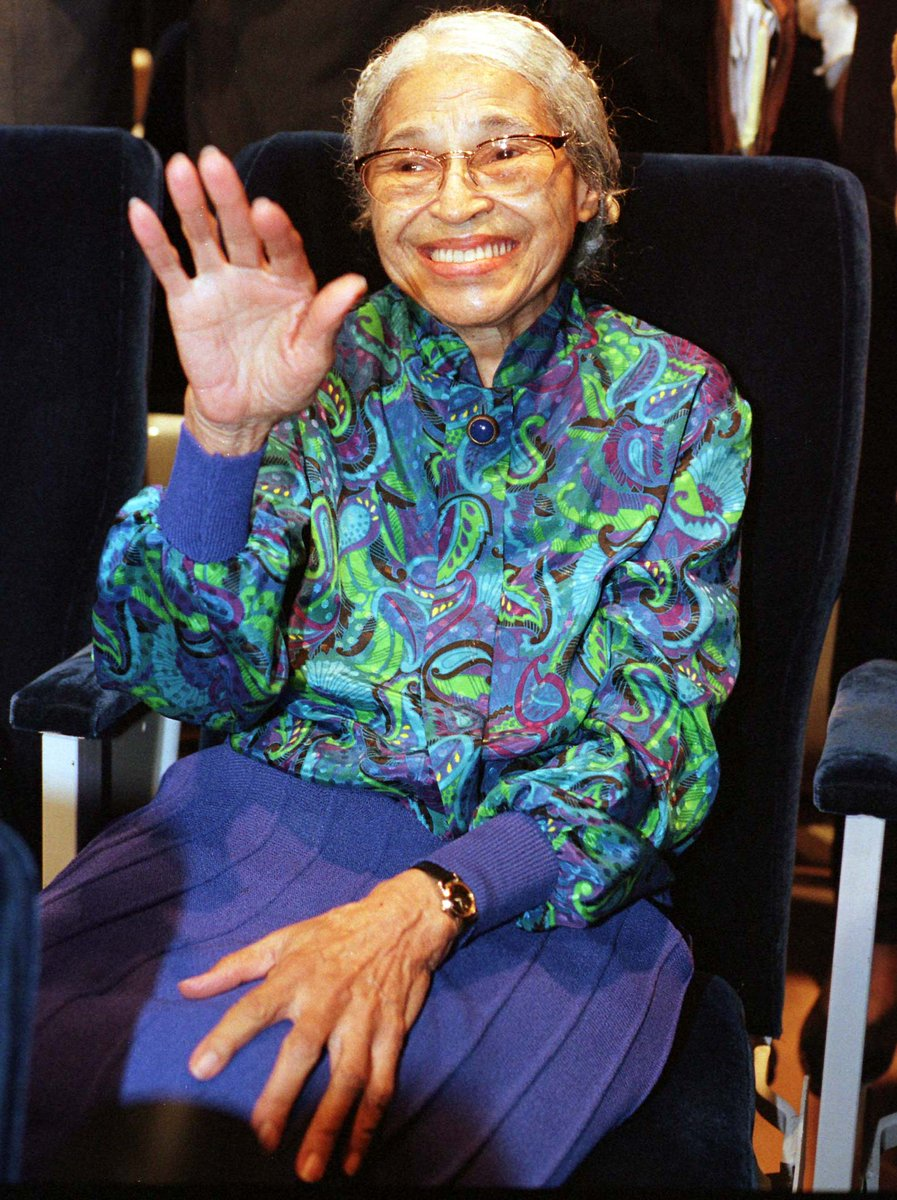 .@Reuters Today in History: 2005 - #RosaParks, who galvanised the U.S. civil rights movement, died at the age of 92 #ReutersArchive