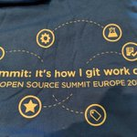 Image for the Tweet beginning: Come see us at #osssummit