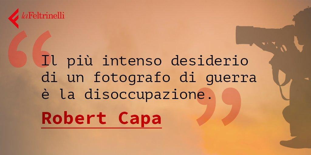 Nel giorno della sua nascita ricordiamo Robert Capa, il padre del fotogiornalismo, con questa citazione sulla guerra #22ottobre