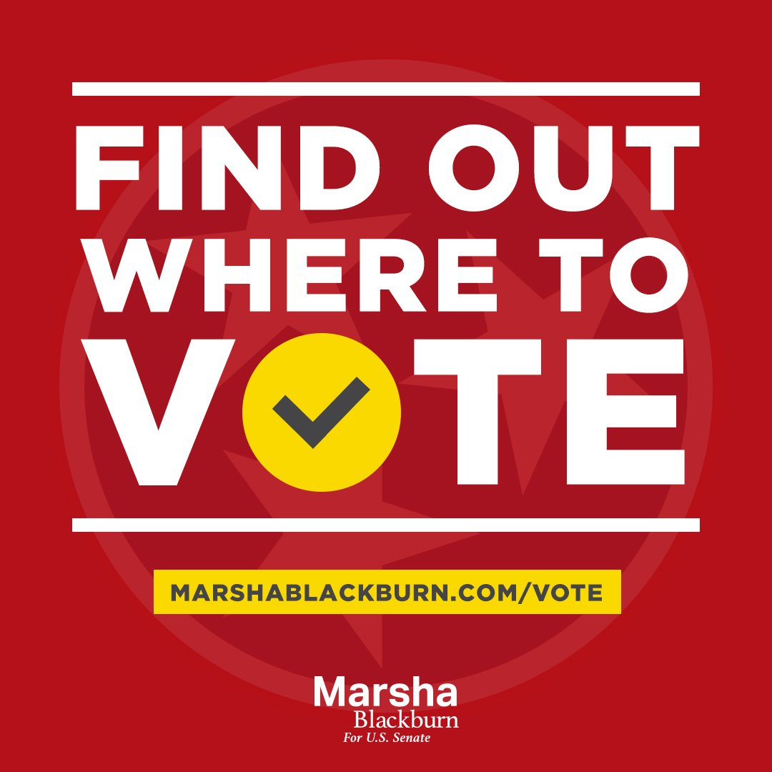 Early voting is underway in Tennessee! Find your voting location today: https://t.co/VWSoDMG3GV https://t.co/v5y7oXm93G