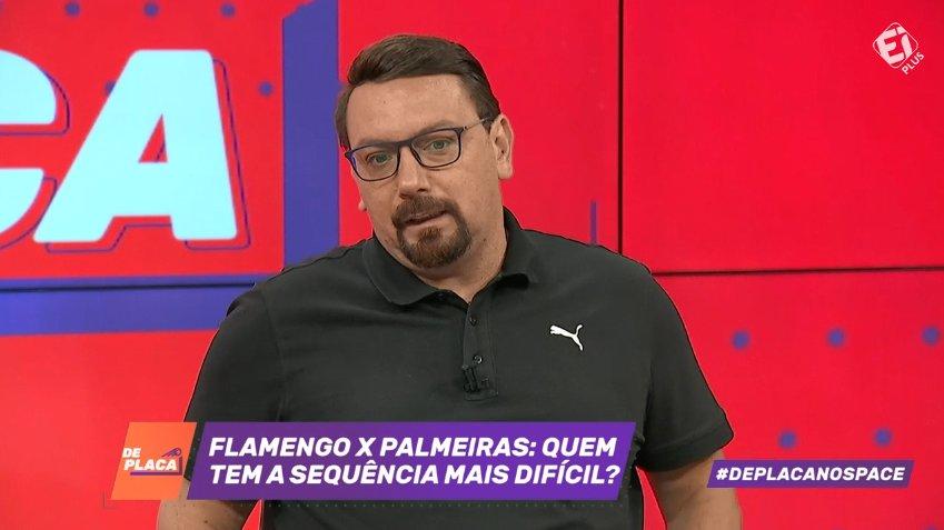 Quem tem a sequência mais difícil no Brasileirão: Palmeiras ou Flamengo? Participe com a #DePlacaNoSpace!