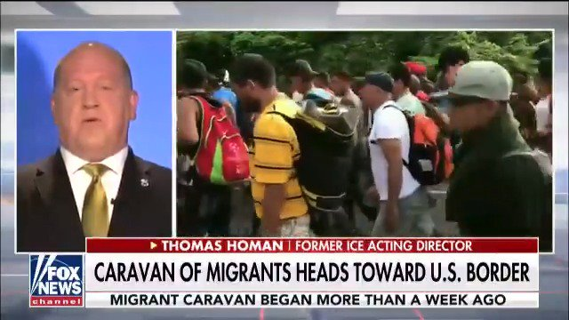 Thomas Homan on migrant caravan: 'A lot of this could have been prevented.' https://t.co/KFQFPpg4RR https://t.co/Z5xNsdUtEr