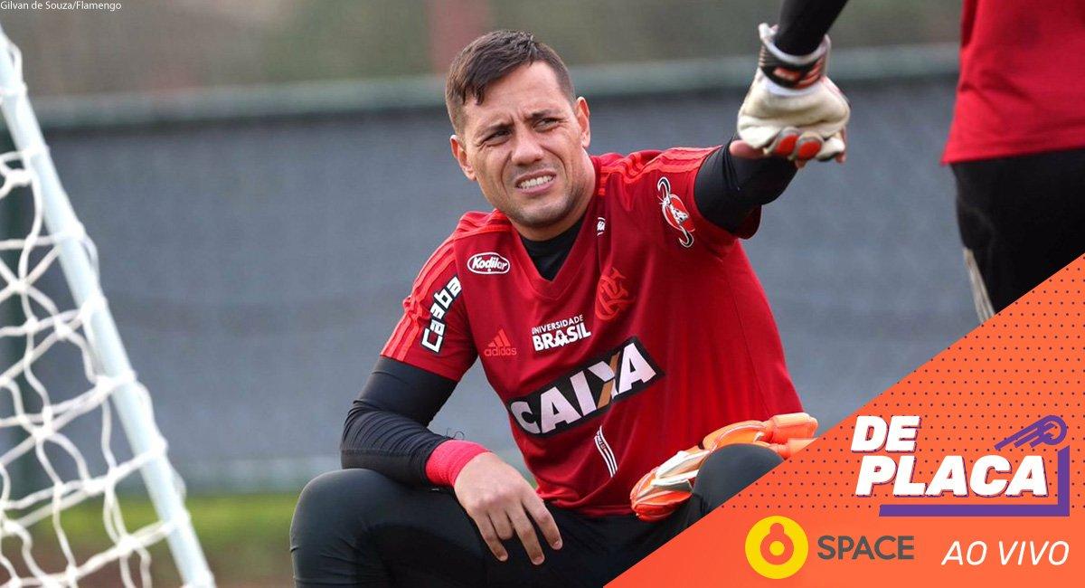 Diego Alves deve ser punido por não ter viajado para a partida contra o Paraná? Manda pra gente sua opinião na #DePlacaNoSpace!