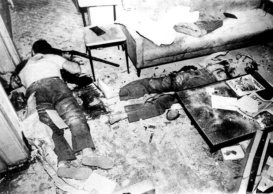 Em 1976, agentes do DOI-Codi e do Dops invadem uma casa no bairro da Lapa, em São Paulo, e assassinam a tiros de metralhadora dois dirigentes do Partido Comunista do Brasil (PCdoB), Pedro Pomar e Ângelo Arroyo. #DitaduraNão
