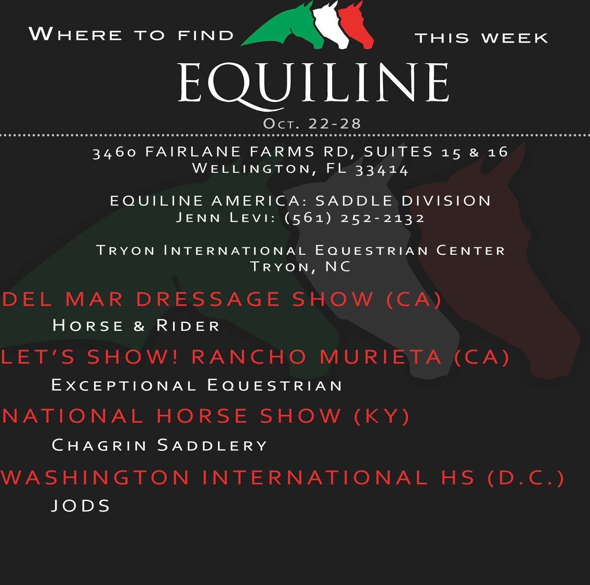 Equiline America on Twitter: