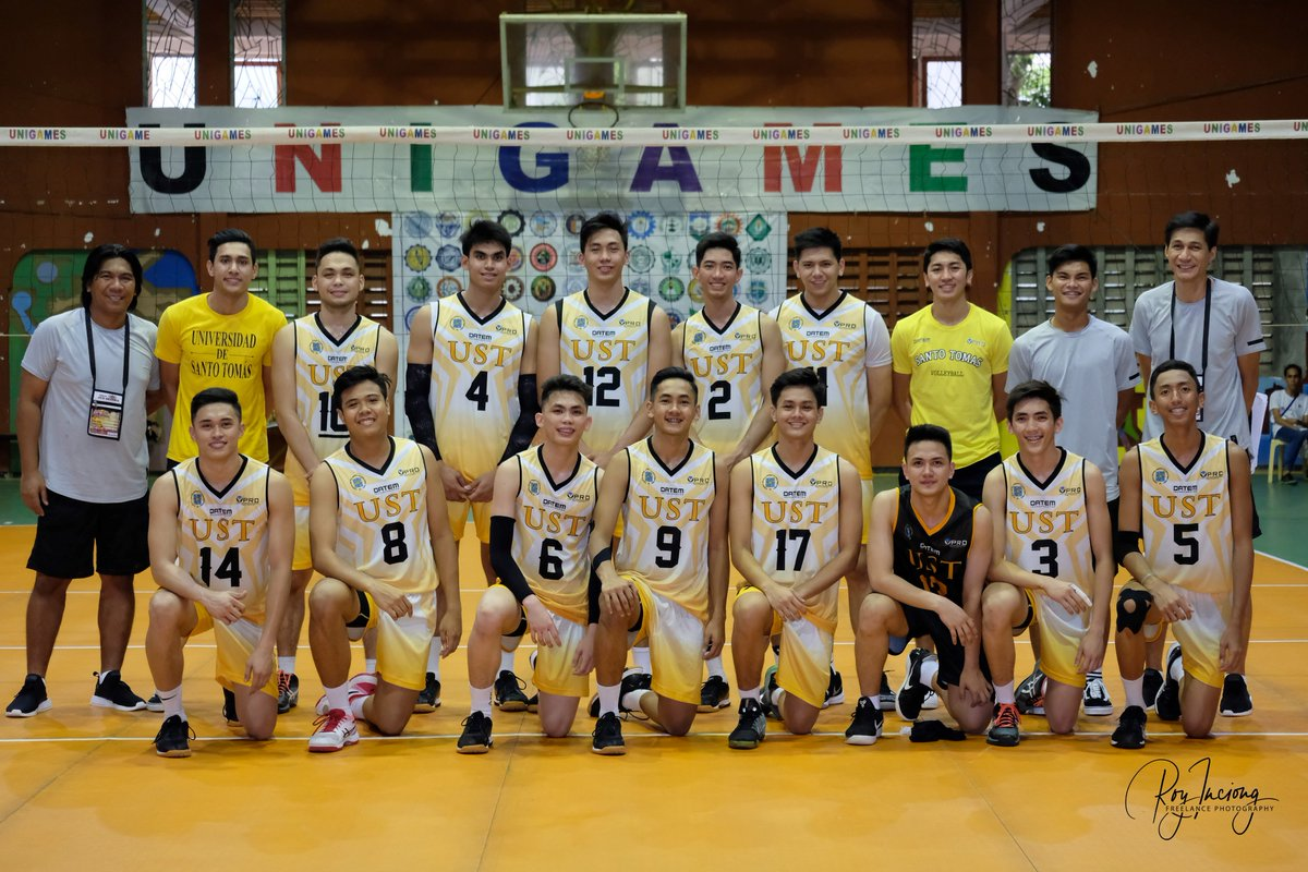 Ust Men S Volleyball On Twitter Tigerannouncement Presenting The Unigames2018 Line Up Of Ust Indoor Men S Volleyball Team Gouste Defendthecrownust Parasauste 23rdunigames 2018unigames Https T Co 1c7ntwiymb