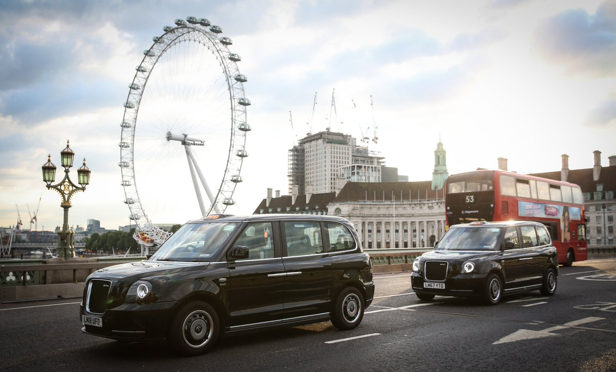 New! You can now hail the shiny new electric taxis in central London, directly from the app. Go Electric. Go Gett. #GettElectric #TheElectricTaxi #TheElectricRevolution #GettGreen #LEVC https://t.co/Ckgt5Rxke5