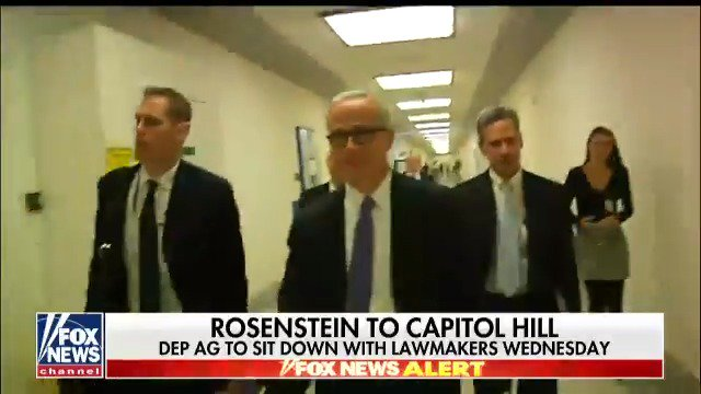 Deputy Attorney General Rod Rosenstein to sit down with lawmakers on Wednesday https://t.co/5OIfNF0RVe https://t.co/3KBZ4INPzy