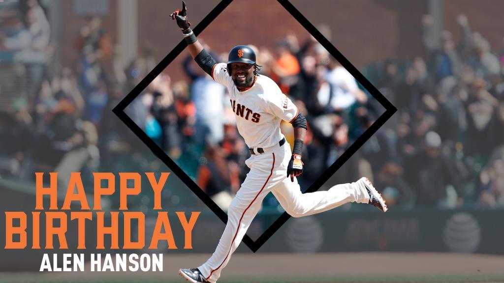 Happy Birthday, @AlenHanson92! 🎉 #SFGiants