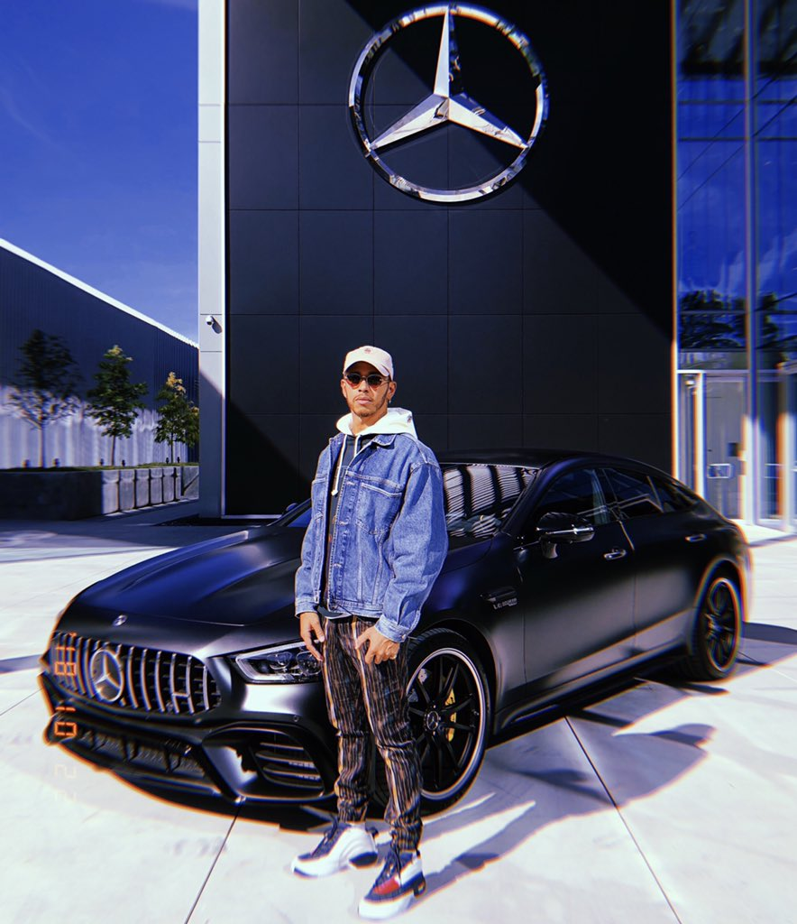 Out here at @MercedesBenz USA HQ with this beast 🔥🔥🔥 AMG GT 4 door coupe