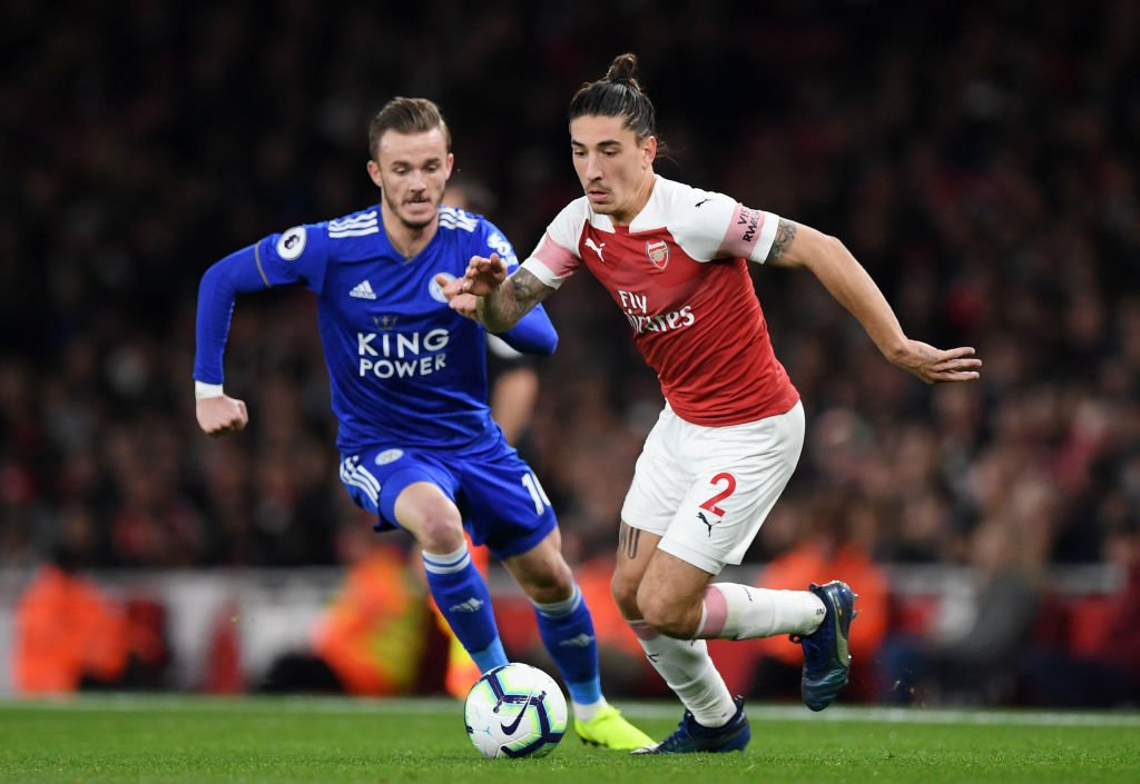 Arsenal v Leicester is back under way. Finely poised at 1-1, what a second half we have in store! Follow here: bbc.in/2R5mVJa