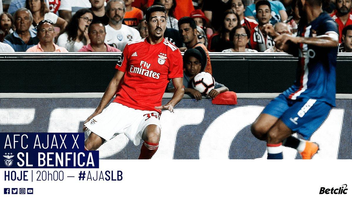 🚨 Dia de Champions! 🚨 🆚 @AFCAjax  🏆 #UCL  ⏰ 20:00  📍 Johan Cruijff ArenA  Aposta na vitória ➡ https://t.co/4nQemQ4o42    #AJASLB