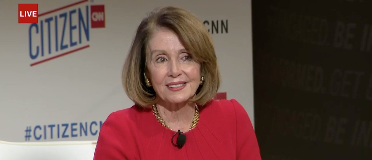 Nancy Pelosi: People Ask Me All The Time Why I Haven't Run For President https://t.co/pJiXpQoDYT https://t.co/RNMGn22K3u
