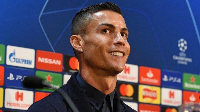 En medio de acusaciones Cristiano Ronaldo dice ser un ejemplo dentro y fuera de la cancha » Photo