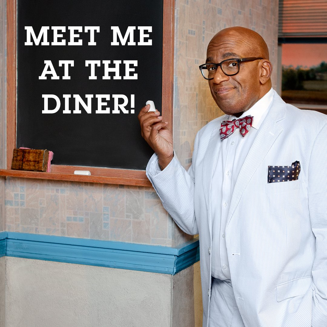 Hey, Folks. Come to @WaitressMusical for this Wednesday's matinee and meet me after the performance! Use code ALRKR to book your tickets - you get to meet me & get an exclusive 'Old Joe'  pos#Waitresster! Tickets:     https://t.co/GCIfGUYl9j#broadway#matinee#AlRoker